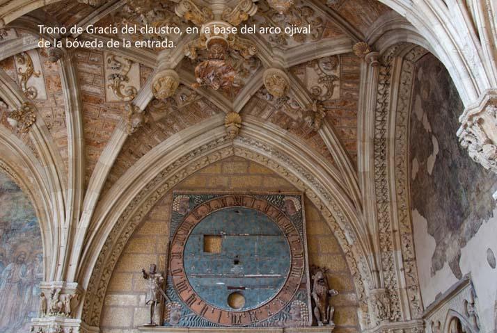 Trono de Gracia del claustro