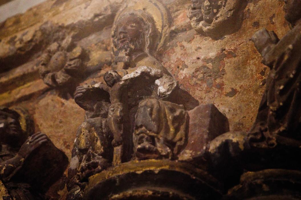 Trono de Gracia Catedral de León