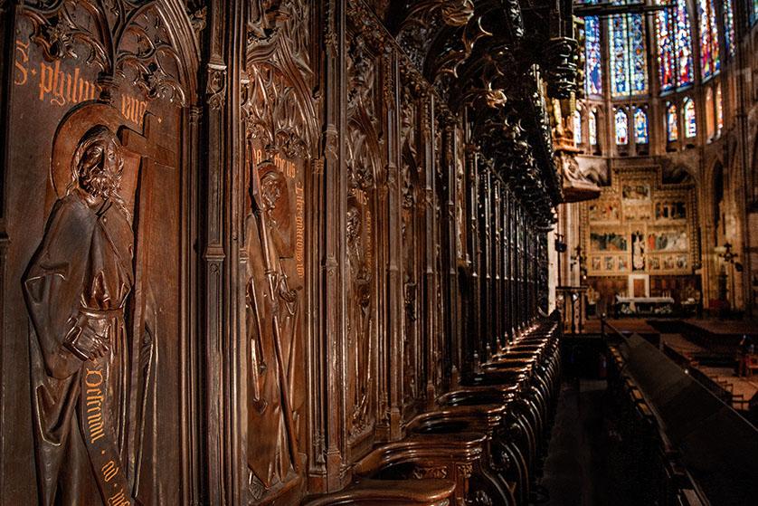 El Coro de la Catedral de León (1)